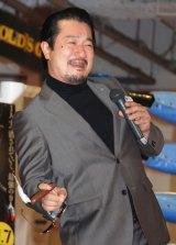 映画『サボタージュ』公開記念イベントに出席したテル (C)ORICON NewS inc.