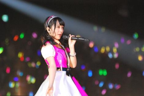 『AKB48ヤングメンバー全国ツアー〜未来は今から作られる〜』に出演した向井地美音 (C)ORICON NewS inc.