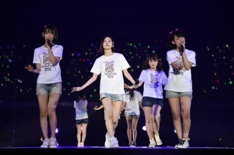 若手が活躍!=『AKB48ヤングメンバー全国ツアー〜未来は今から作られる〜』初日公演の模様(C)AKS