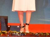 吹石一恵の壊れた靴=映画『S-最後の警官-奪還 RECOVERY OF OUR FUTURE』完成披露舞台あいさつ (C)ORICON NewS inc.