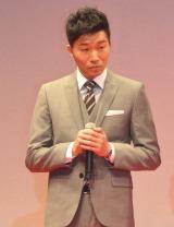 映画『S-最後の警官-奪還 RECOVERY OF OUR FUTURE』完成披露舞台あいさつに出席した高橋努 (C)ORICON NewS inc.