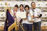 「写真甲子園2015」で優勝した沖縄県立浦添工業高校