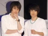 舞台『アダルトチルドレン』取材会に出席した(左から)碕理人、樋口裕太 (C)ORICON NewS inc.