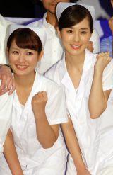 舞台『アダルトチルドレン』取材会に出席した(左から)笹丘明里、菊池真琴 (C)ORICON NewS inc.