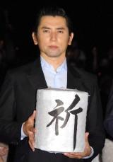 映画『日本のいちばん長い日』大ヒット御礼舞台あいさつに出席した本木雅弘 (C)ORICON NewS inc.
