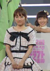 『第2回AKB48グループドラフト会議』体調不良から復活した高橋みなみが開会宣言 (C)ORICON NewS inc.