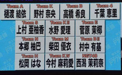 『第2回AKB48グループドラフト会議』1巡目 (C)ORICON NewS inc.