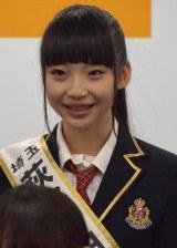 『第2回AKB48グループドラフト会議』で指名を受けた荻野由佳さん (C)ORICON NewS inc.