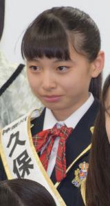 『第2回AKB48グループドラフト会議』で指名を受けた久保怜音さん (C)ORICON NewS inc.