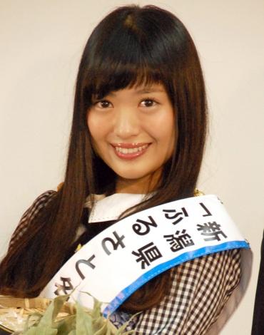 「新潟県を盛り上げていきたい」と意気込みを語ったNGT48の北原里英=『新潟ふるさと名物商品PR大使就任式』 (C)ORICON NewS inc.