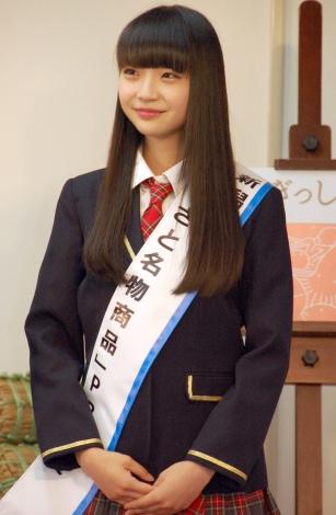 『新潟ふるさと名物商品PR大使就任式』に出席した荻野由佳 (C)ORICON NewS inc.
