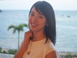 主演する日韓合作映画『絶壁の上のトランペット』の撮影で沖縄・石垣島を訪れた桜庭ななみ