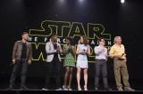 ディズニーのファンイベント『D23EXPO 2015』で行われた『スター・ウォーズ/フォースの覚醒』プレゼンテーションの模様