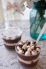チョコレートプディング パフェ