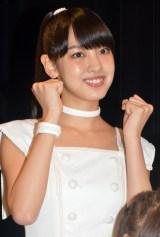 シングル「Oh my wish!/スカッとMy Heart/今すぐ飛び込む勇気」リリースイベントに出席したモーニング娘。'15・飯窪春菜 (C)ORICON NewS inc.