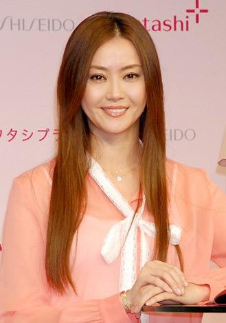 『ワタシプラス 美容女子会』にゲストとして出席した観月ありさ (C)ORICON DD inc.