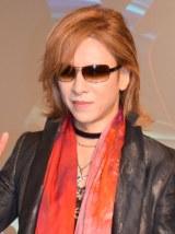 X JAPANとして20年ぶりとなる新アルバムへの思いを語ったYOSHIKI=都内ホテル (C)ORICON NewS inc.