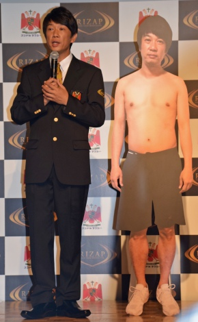 「ライザップ」×「コンドルタクシー」お披露目イベントに登場したTKO・木本武宏 (C)ORICON NewS inc.