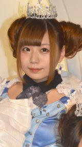 放課後プリンセスのメジャーデビュー記念イベントに出席した城崎ひまり (C)ORICON NewS inc.