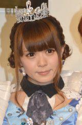放課後プリンセスのメジャーデビュー記念イベントに出席した木月沙織 (C)ORICON NewS inc.
