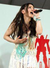 『TOKYOガンダムプロジェクト2015 ガンダムサマーライブ』に出演した玉置成実 (C)ORICON NewS inc.