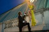 レベッカ・ファーガソン演じる謎の女スパイ・イルサ(C) 2015 Paramount Pictures. All Rights Reserved.