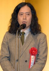 『第153回 芥川賞・直木賞』の贈呈式に出席した又吉直樹 (C)ORICON NewS inc.
