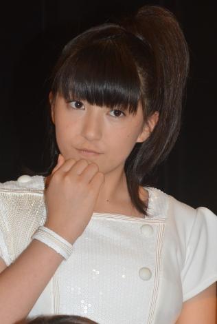 シングル「Oh my wish!/スカッとMy Heart/今すぐ飛び込む勇気」リリースイベントに出席したモーニング娘。'15・羽賀朱音 (C)ORICON NewS inc.