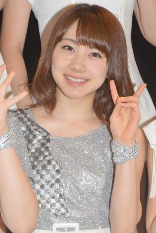 シングル「Oh my wish!/スカッとMy Heart/今すぐ飛び込む勇気」リリースイベントに出席したモーニング娘。'15・石田亜佑美 (C)ORICON NewS inc.
