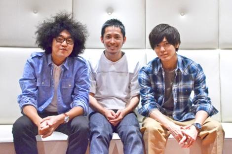 劇団プレステージの(左から)リーダー・今井隆文、平埜生成、猪塚健太 (C)oricon ME inc.