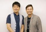インタビューに応じた(左から)土田晃之、品川祐 (C)ORICON NewS inc.
