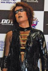 『両国ピーターパン2015〜DDTより愛をこめて〜』でプロレスデビューを飾ったLiLiCo (C)ORICON NewS inc.