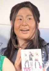 SAMに扮して登場した森三中・大島美幸 (C)ORICON NewS inc.