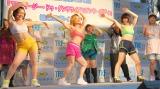 ダイエット企画に挑戦した女芸人がダンスを披露(左から)出雲阿国、ツジカオルコ、ボルサリーノ (C)ORICON NewS inc.
