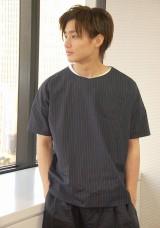 役柄と同じく野村も小・中学校は野球部に所属し、セカンドのポジションを担当した (C)ORICON NewS inc.