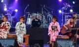 ロックディーバ4人が浴衣姿で共演した『NAONのYAON』(左から中村あゆみ、杏子、相川七瀬、寺田恵子)