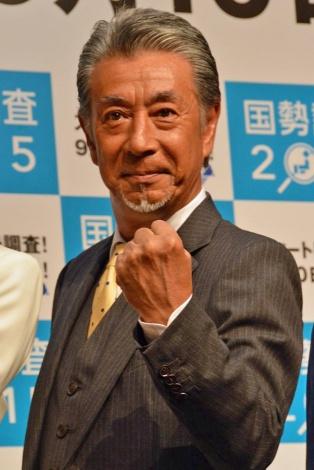 『国勢調査2015 広報キックオフ発表会』に出席した高田純次 (C)ORICON NewS inc.