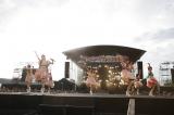 私立恵比寿中学の夏の恒例野外ワンマンライブ『エビ中 夏のファミリー遠足 略してファミえん in 長岡 2015』を新潟・国営越後丘陵公園野外特設ステージで開催