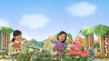 女優・黒島結菜(右)らの出演で、NHKの番組やキャラクターを面白おかしく紹介するミニドラマ『受信寮の人々』第3話より(C)NHK
