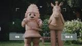 NHKの番組やキャラクターを面白おかしく紹介するミニドラマ『受信寮の人々』第4話より(C)NHK