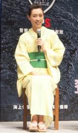 映画『S-最後の警官-奪還 RECOVERY OF OUR FUTURE』公開直前イベントに出席した吹石一恵 (C)ORICON NewS inc.