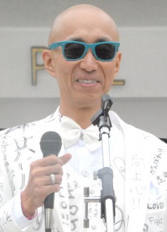 音楽ユニット「坊坊主」のデビュー・アルバムリリース記念イベントに出席したサンプラザ中野くん (C)ORICON NewS inc.