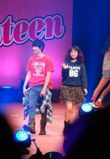 『Seventeen夏の学園祭 2015』に登場した福士蒼汰&広瀬アリス (C)ORICON NewS inc.