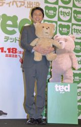 映画『テッド』の公開アフレコに出席した有吉弘行 (C)ORICON DD inc.