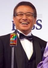 「サントリーコーヒー『BOSS』新CM発表会」に出席した赤坂泰彦 (C)ORICON NewS inc.