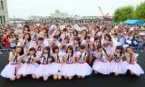 NGT48の1期生が地元新潟で開催されたお披露目イベントに登場(C)AKS