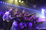 AKB48チーム4の「アイドルの夜明け」千秋楽公演(C)AKS