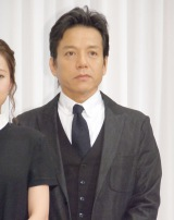 舞台『青い瞳』製作発表会に出席した勝村政信 (C)ORICON NewS inc.