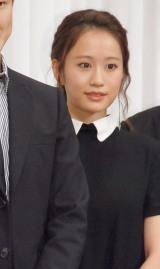 舞台『青い瞳』製作発表会に出席した前田敦子 (C)ORICON NewS inc.