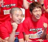 『キングオブコント2015』決勝に進出したアキナ(左から)山名文和、秋山賢太 (C)ORICON NewS inc.